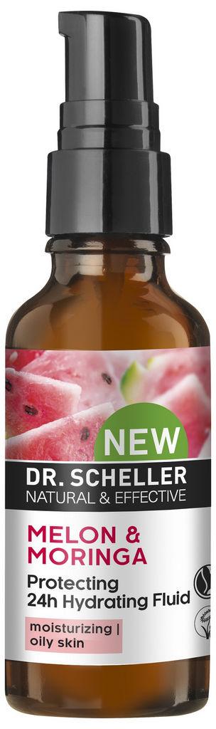 Fluid vlažilni Dr.Scheller, melona, 50 ml