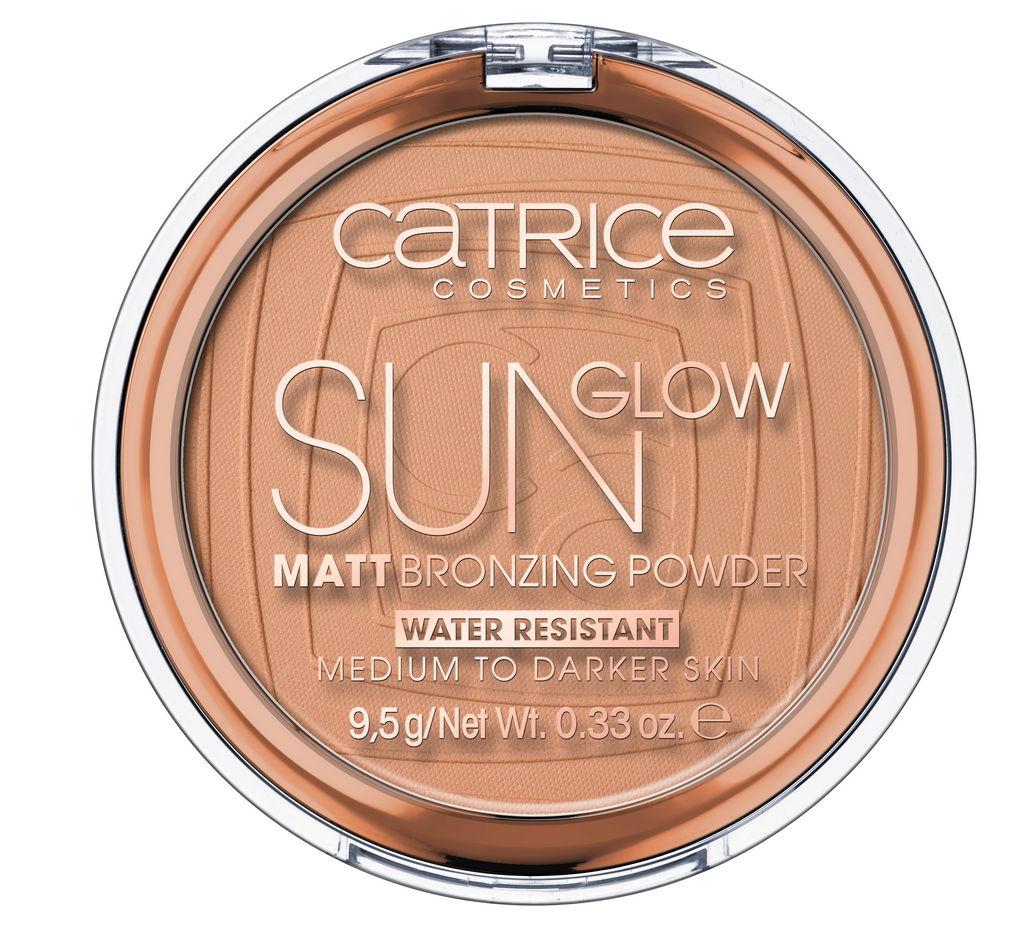 Puder Catrice kompaktni bronzing, Sun glow odtenek 35 Universal bronze