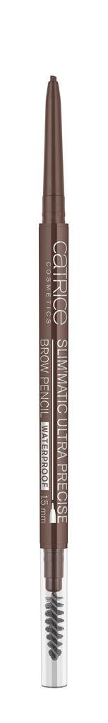 Svinčnik za obrvi Catrice Slim matic vodoodporen, odtenek 040 cool brown