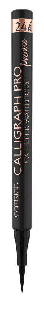 Svinčnik za oči Catrice Calligraph pro intense, black