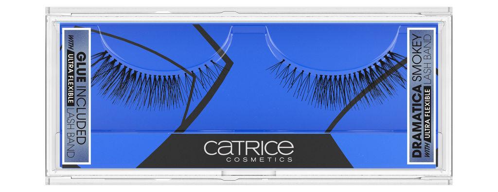 Trepalnice Catrice Lash couture, umetne Dramatica smokey eyes