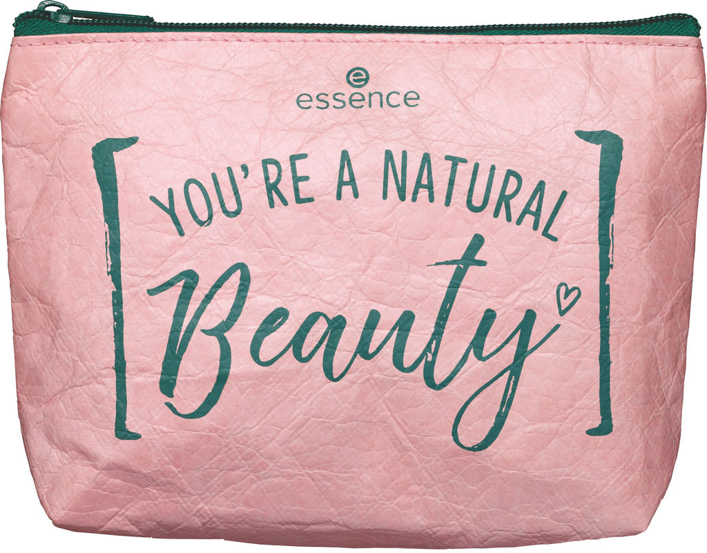 Torbica Essence, kozmetična, natur.