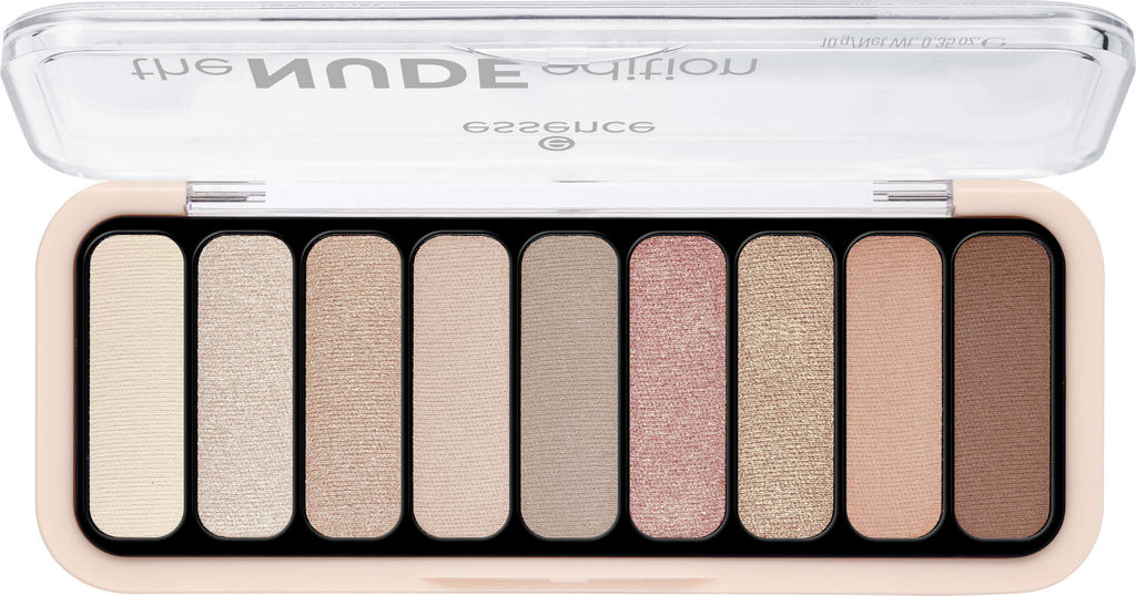 Senčilo Essence, The Nude, paleta, 10