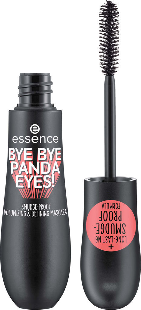 Maskara Essence Bye bye panda eyes, črna