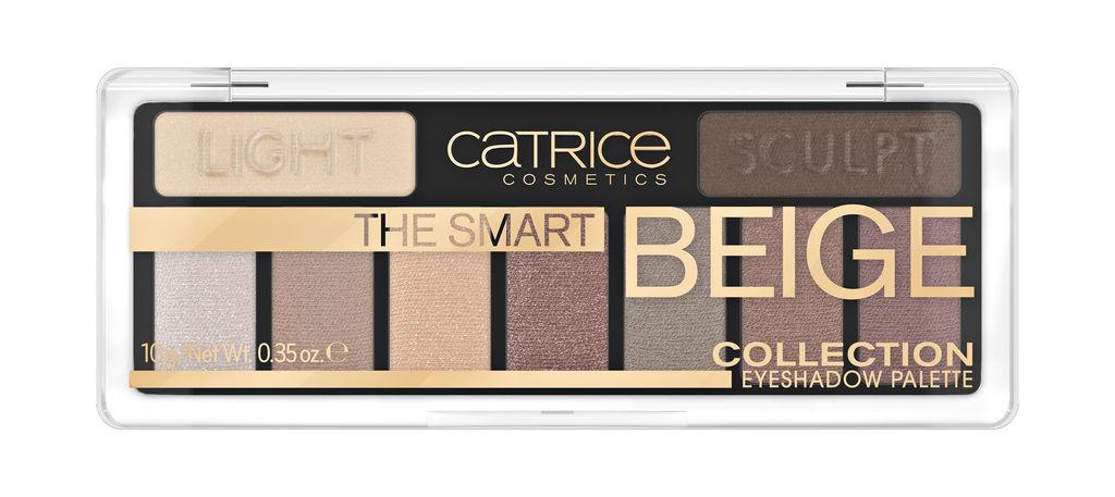 Paleta senčil za oči Catrice The smart, beige