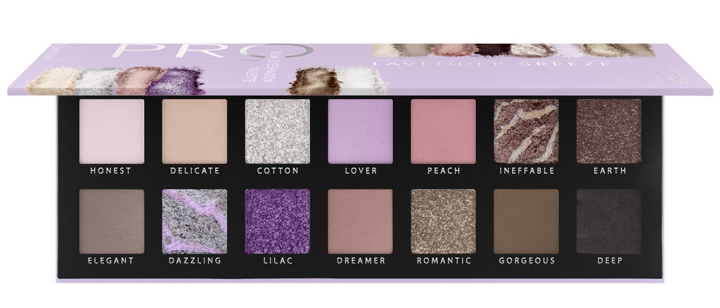Paleta senčil Catrice Pro Lavender Breeze