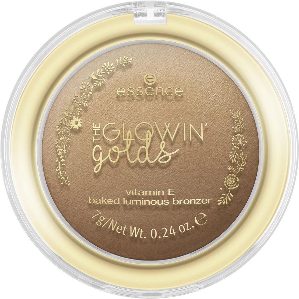 Bronzer za obraz Essence, the Glowin' golds, 01