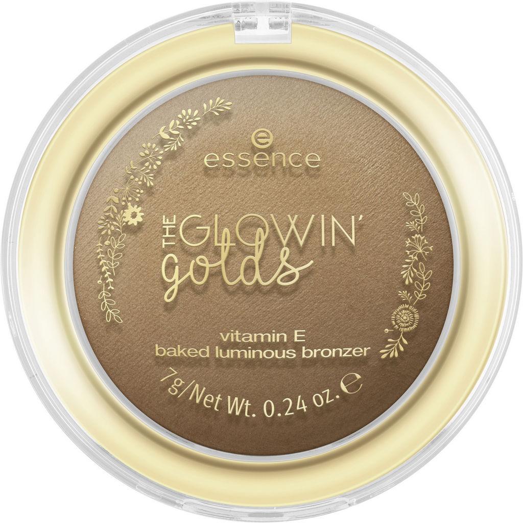 Bronzer za obraz Essence, the Glowin' golds, 02