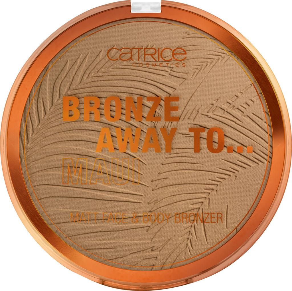 Bronzer za obraz & telo Catrice, Bronze Away To… – C01, Maui