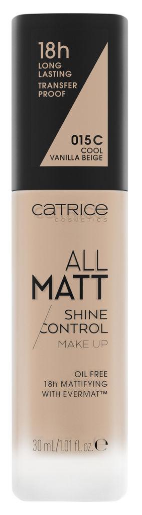 Puder tekoči Catrice, All Matt Shine Control, odt. 015