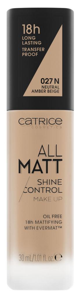 Puder tekoči Catrice, All Matt Shine Control, odt. 027