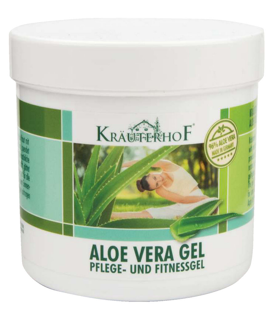 Gel Krauterhof, Aloe vera, 250 ml