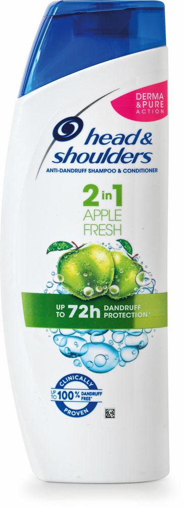 Šampon H&S, Apple, 2v1, 360ml