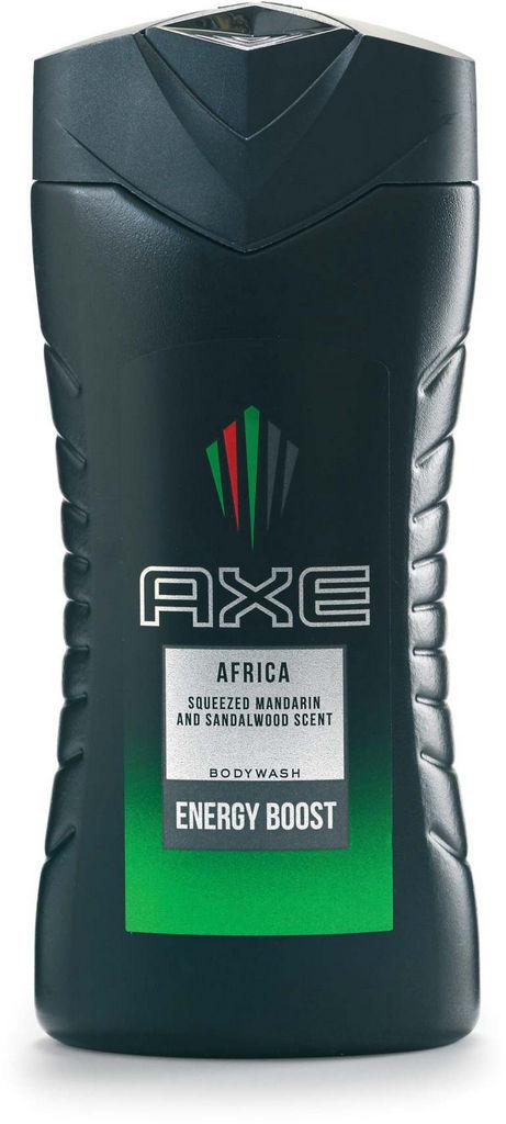 Gel za prhanje Axe, Africa, 250 ml