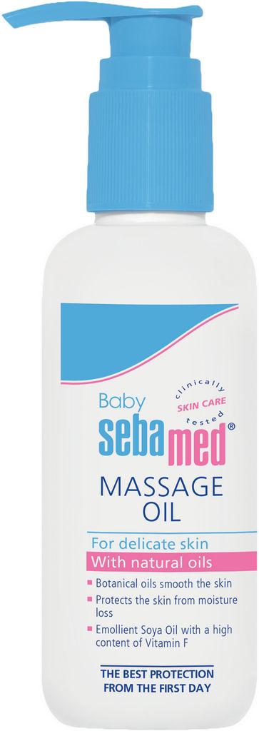 Olje Sebamed Bebe, masažno, pomirjajoče, 150ml