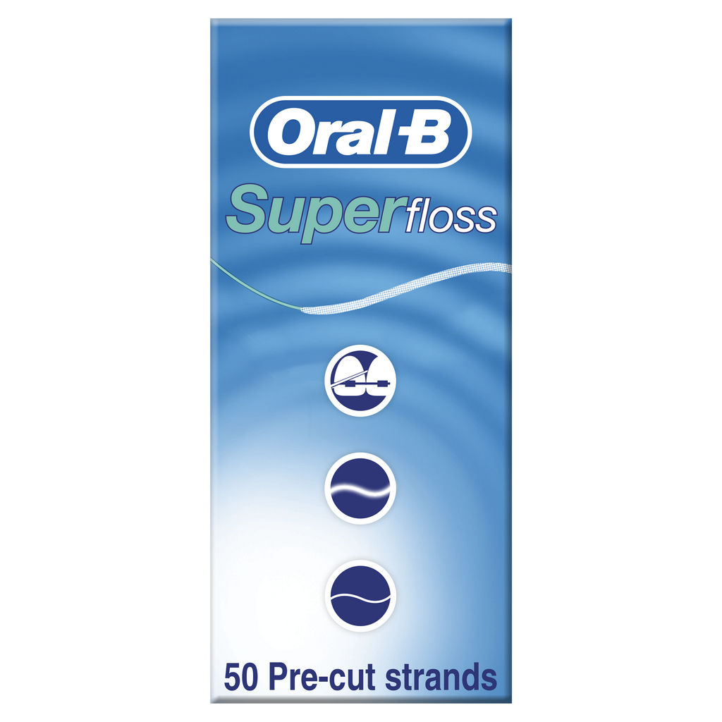 Zobna nitka Oral – B, Superfloss 50/1