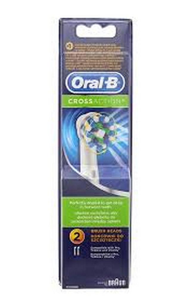 Nastavek za zobno šlčetko Oral B cross action EB50, 2/1