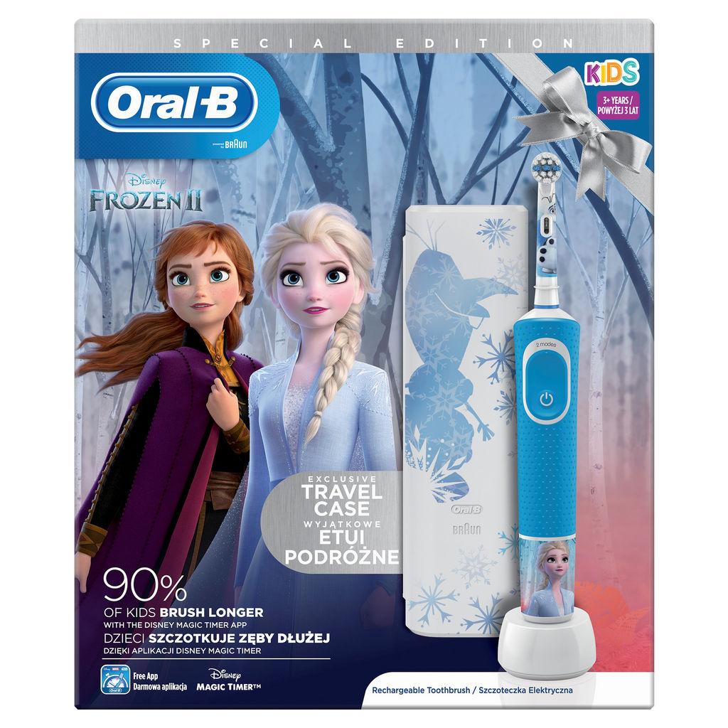 Set Oral-B Vitality D100 Frozen II+travel case 2020