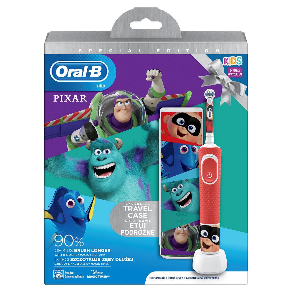 Set Oral-B Vitality D100 Pixar+travel case 2020