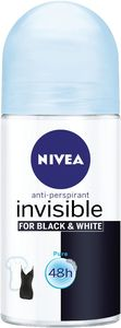 Dezodorant roll-on Nivea invisible B&W, 50ml