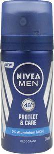 Dezodorant sprej Nivea Protect moški miniaturka , 35ml
