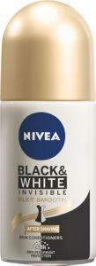 Dezodorant roll-on Nivea, Invisible B&W, Smooth, 50ml