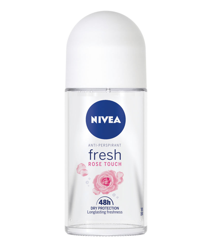 Roll-on  Nivea, Fresh Rose Touch AP, ženski, 50 ml