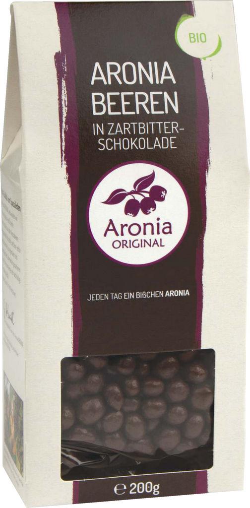 Aronija Bio v temni čokoladi, 200g