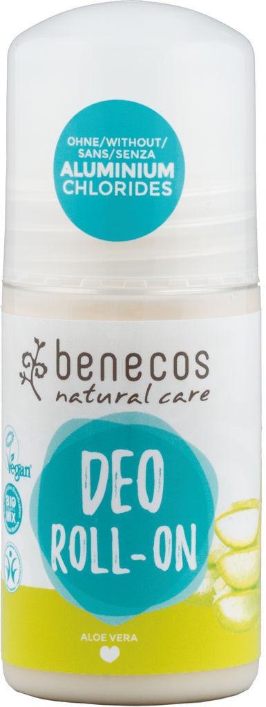 Dezodorant roll-on Benecos Natural, Aloe vera, 50ml