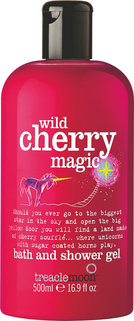 Gel za prhanje in kopel Treaclemoon, wild cherry magic, 500ml