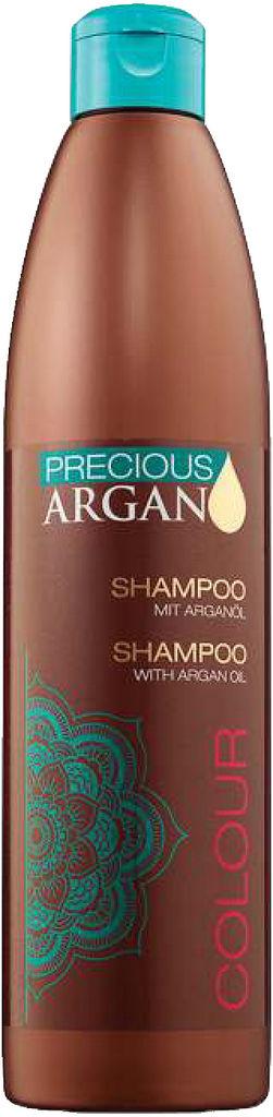 Šampon za lase Precious, argan za barvane lase, 500 ml