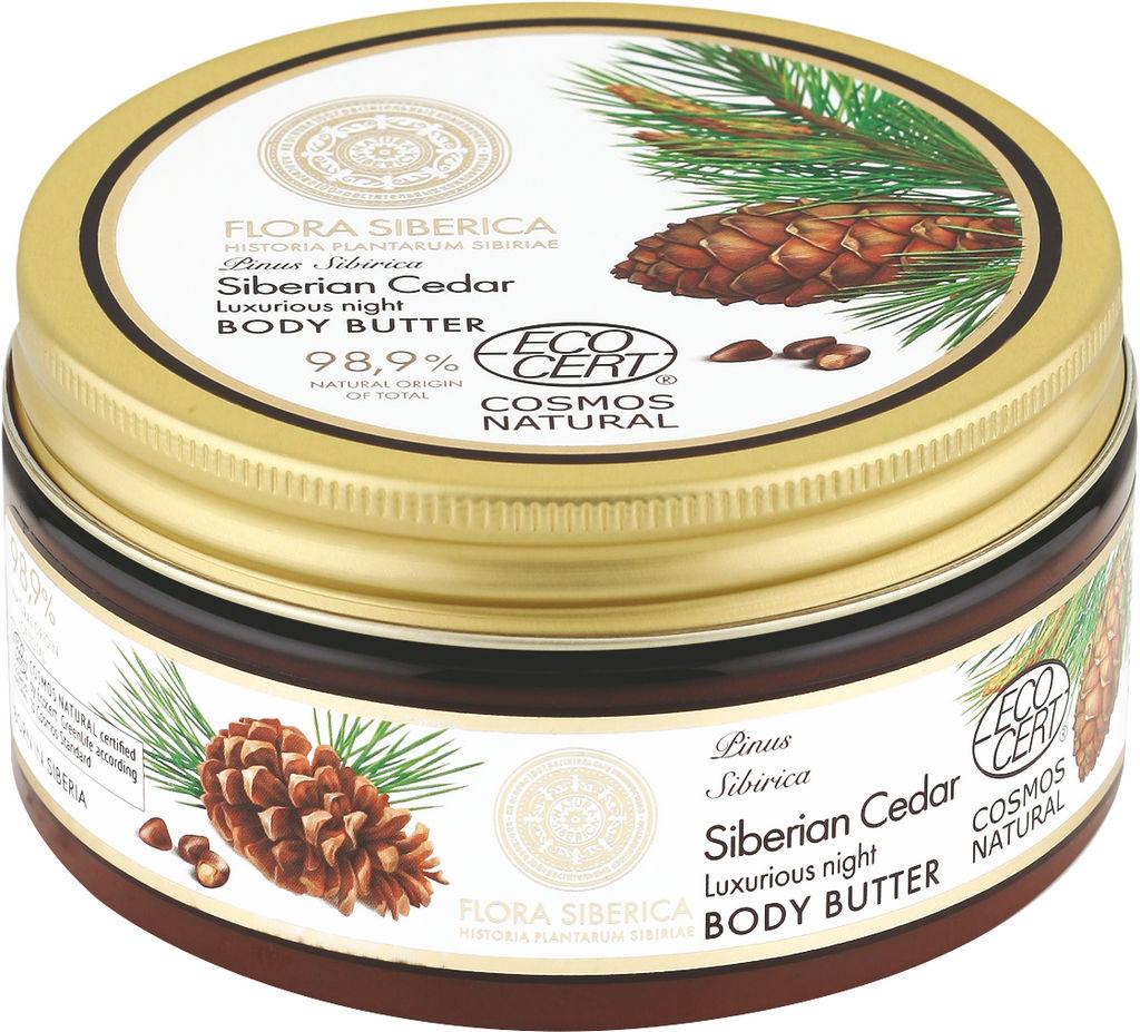 Maslo za telo Natura Siberica, Siberski bor, 300 ml