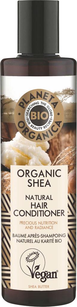 Balzam za lase Planeta Organica z eko karitejevim maslom, 280ml