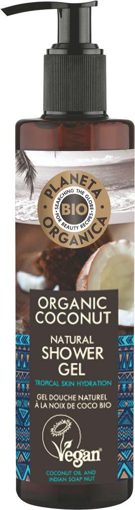 Gel za prhanje Planeta Organica, kokosovo olje, 280ml