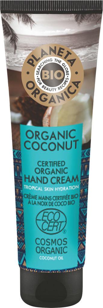 Krema za roke BIO Planeta Organica, s kokosovim oljem, 75ml