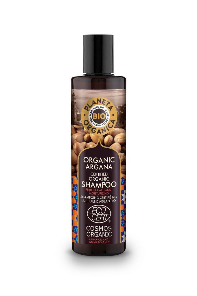 Šampon za lase Planeta Organica, bio z arganovim oljem, 280ml