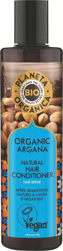 Balzam za lase Planeta Organica z eko arganovim oljem, 280ml