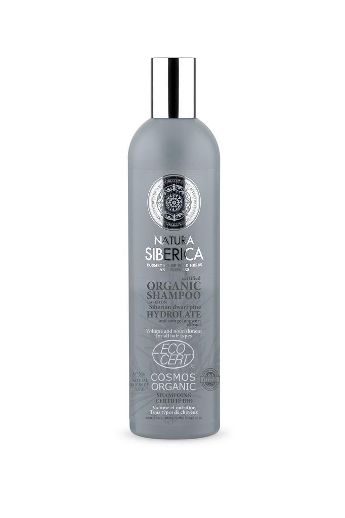 Šampon za lase Natura Siberica, volumen za vse tipe las, 400 ml