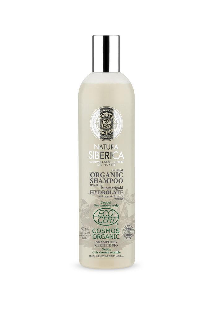 Šampon za lase Natura Siberica, Neutral za občutljive lase, 400 ml