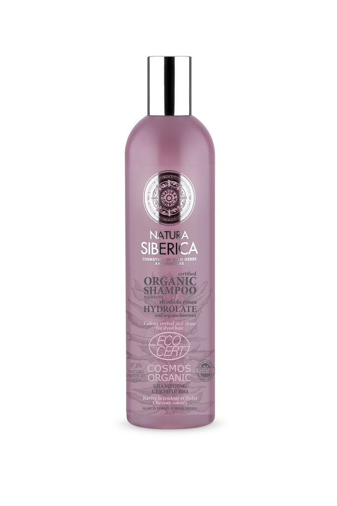 Šampon za lase Natura Siberica, za barvane lase, 400 ml