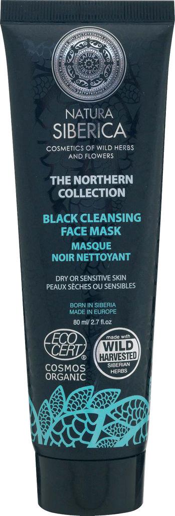 Maska NS, črna obrazna, 80ml