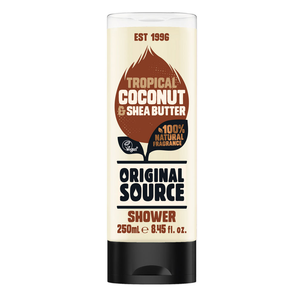 Gel za prhanje Original source, kokos & shea, 250ml