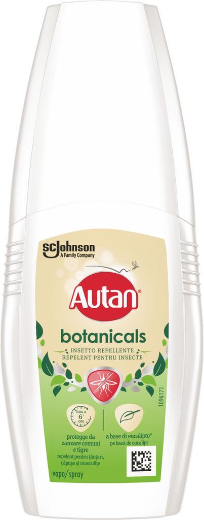 Autan Botanicals, losjon, 100 ml