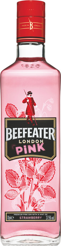 Gin Beefeater Pink, alk.37,5vol%, 0,7 l
