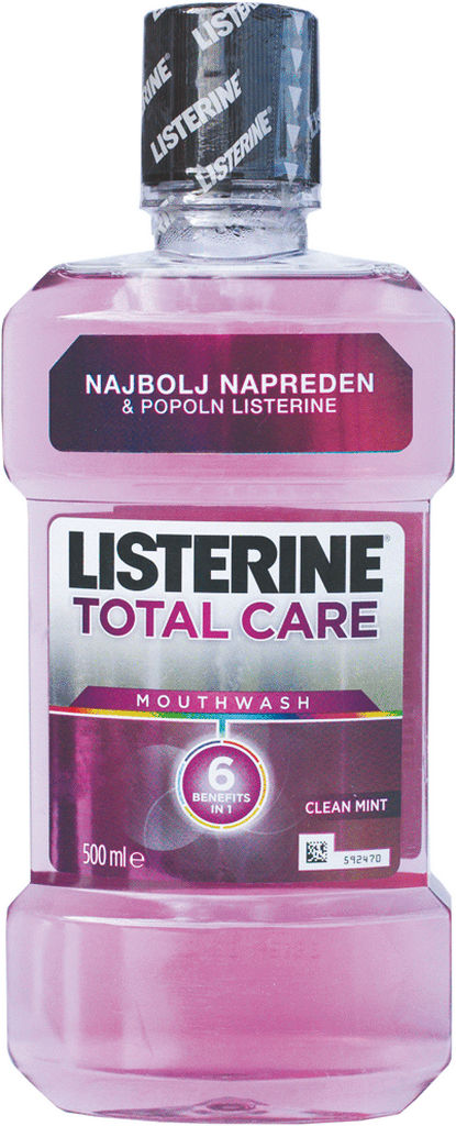 Ustna voda Listerin, total care, 500ml