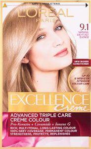 Barva za lase L'Oreal Excellence 9.1