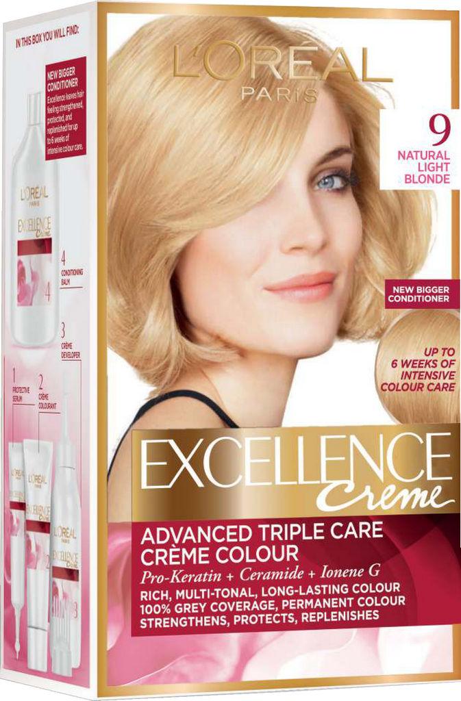 Barva za lase L'Oreal Excellence 9