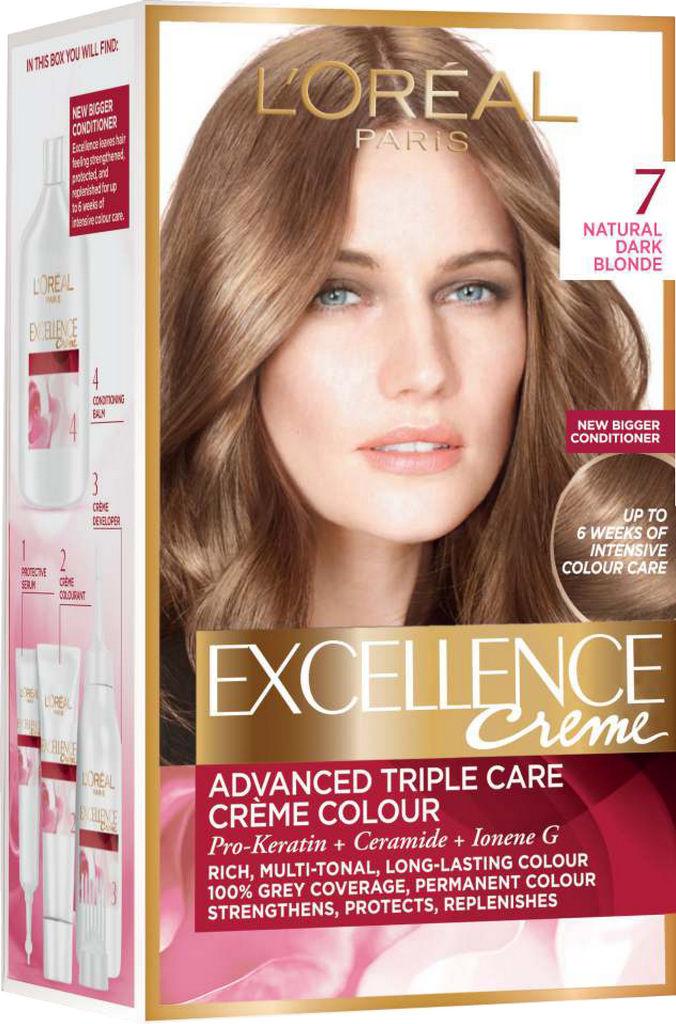 Barva za lase L'Oreal Excellence 7