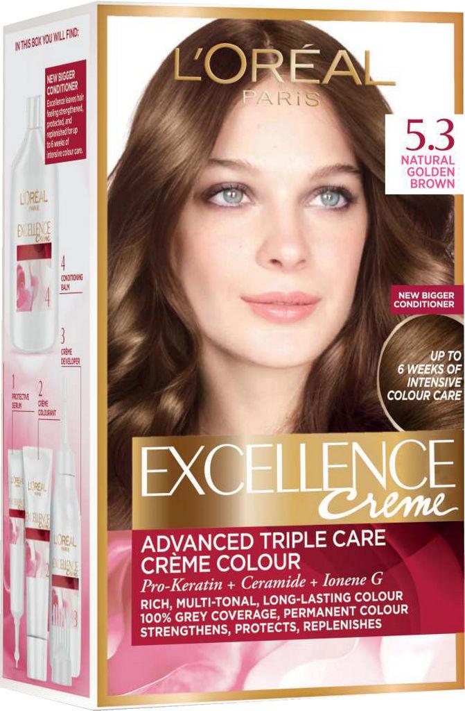 Barva za lase L'Oreal Excellence 5.3