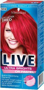 Barva za lase Schwarzkopf Live XXL Ultra 92 izrazito rdeča